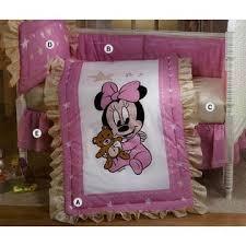 Minnie Crib Bedding Set Disney Baby Minnie Mouse Crib Bedding Set 5 Pieces