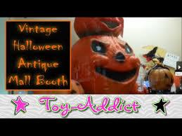 vintage halloween decorations antique booth jack o lanterns