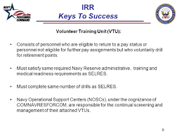 individual ready reserve irr u0027keys to success u0027 17 oct ppt video