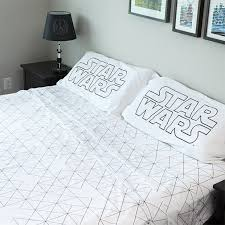 Star Wars Duvet Covers Star Wars Death Star Bedding The Softer Side Of The Dark Side