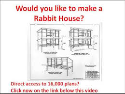 build rabbit hutch how to make a rabbit house rabbit house