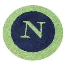 Childrens Round Rugs Custom Personalized Border Round Rug And Nursery Necessities In