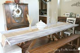 Table Runners For Dining Room Table by Burlap U0026 Lace Table Runner Making It In The Mountains