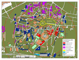 Georgia Southern Campus Map More Gameday Parking Spaces Coming For Football Ole Miss Rebels