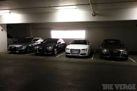 audi a7 parking the batmobile is audi s self driving car picks you up on