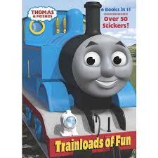 thomas train books trainloads fun jumbo sticker