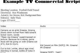 tv commercial script template word script templates free premium templates forms