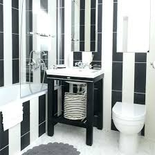 black and white bathroom decorating ideas black and white bathroom decor white and black size of