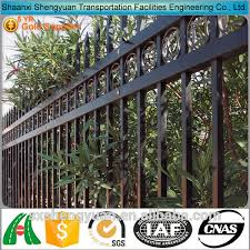 cheap decorative wrought iron fence designs buy triangle bending