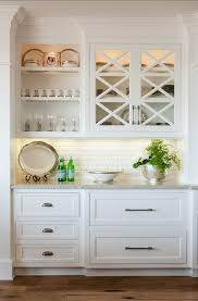 White Kitchen Cabinet Design Best 25 Built In Bar Ideas On Pinterest Basement Kitchen Brick
