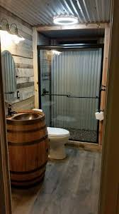 barn tin bathroom country homes pinterest barn tin barn and
