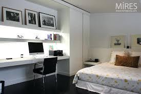 chambre parisienne chambre deco chambre bureau en noir et blanc c0750 decoration