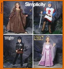 Simplicity Halloween Costumes Simplicity 5520 Child U0027s Costume Princess Dress