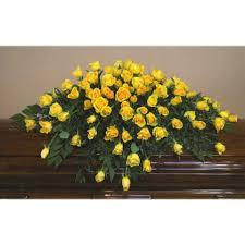 casket spray yellow casket spray cs0015 399 95 flowers portland