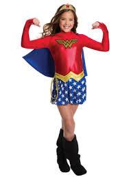 Woman Halloween Costume Women Deluxe Woman Kids Costume Justice League Girls Costumes