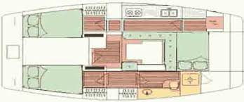 Catamaran Floor Plans Transition To A Catamaran Trawler Coastline Cruising
