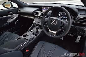 lexus interior 2015 2015 lexus rc f review video performancedrive