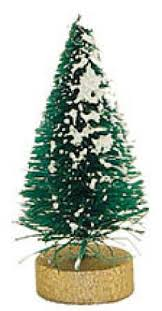 48 package miniature frosted forest sisal trees
