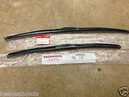 2008 honda crv wiper blades genuine oem honda civic 4dr sedan front windshield wiper blades