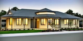 single story farmhouse plans the habitat four bed farmhouse home design wa domain by plunkett