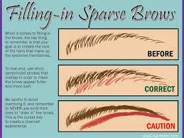 proper way to fill in eyebrows eyebrow hacks tips tricks thick bold brows how to pictures