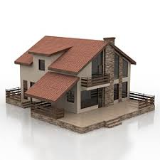 House Model Photos 3d Model House Category Buildings And Houses