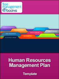 hr management report template resources management plan template