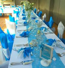 mariage bleu et blanc deco mariage blanc et turquoise le mariage