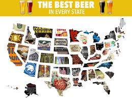 Beer Map Usa by Best Beers In The Us Business Insider