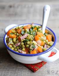 cuisiner des petits pois petits pois carottes