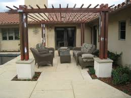 Pergola Post Design by Backyard Kitchen Outdoor Kitchen Santa Barbara Ventura