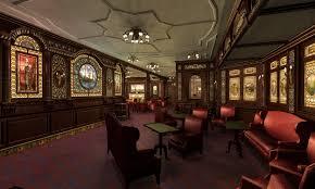 smoking room completed image mafia titanic mod for mafia the