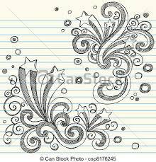 Starburst Design Clip Art Clipart Vector Of Starburst Sketchy Doodles Back To Style