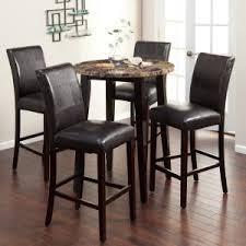 round bistro table set indoor pub table sets hayneedle