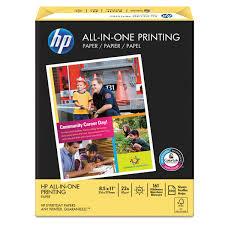 Resume Printer Hp All In One Printing Paper 96 Brightness 22lb 8 1 2 X 11