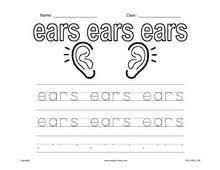 esl kids worksheets body parts worksheets