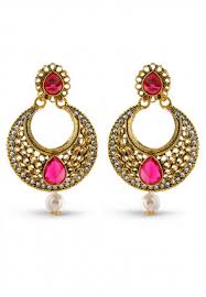 chandbali earrings earrings collection of indian dresses accessories clothing in