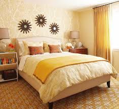 Bright Bedroom Ideas Bright Bedroom With Orange Yellow Brown Combination Bedroom