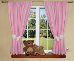 Nursery Blackout Curtains Baby by Nursery Curtains With Decorative Bows For Baby U0027s Room 62 X 62inch