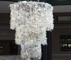 Plastic Chandelier 25 Best Collection Of Plastic Bottle Chandelier