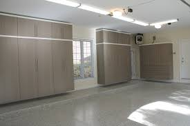 furniture garage makeover design with light brown painted color