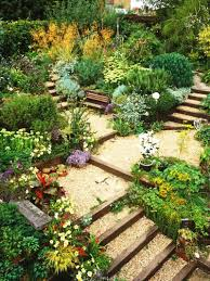 Small Sloped Garden Design Ideas Backyard Garden Design Ideas Steep Slope Slope Landscape