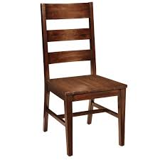 chair for dining room parsons tobacco brown dining chair dining chairs acacia wood