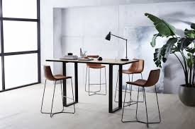 west elm workspace industrial standing height meeting table