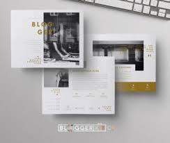 Home Design Media Kit Blogger Blog Media Kit Template Sponsorship Set Microsoft