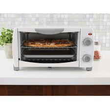 Mainstays 4 Slice Toaster Oven White