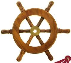 6 pirate ship captain s wheel nautical decoration ornament