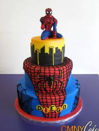spidermancake superhero party pinterest narodeninové torty