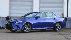 lexus gs300 blue 2017 lexus gs 350 review low on sport high on value