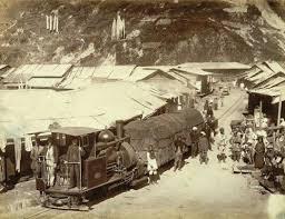 Tiger Gate Ballard Estate Toy Train On The Way To Darjeeling Below St Alphonsus In